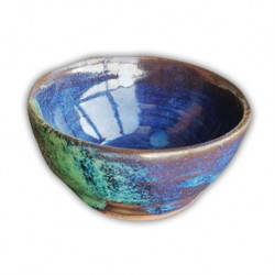 MISECZKA CERAMCZNA BLUE EVENING HANDMADE