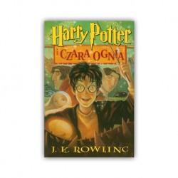 """HARRY POTTER I CZARA OGNIA"" J.K. ROWLING"