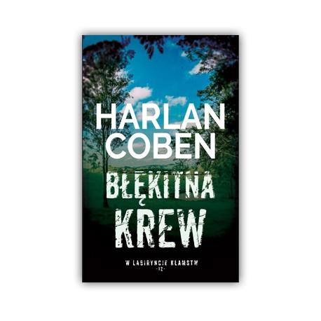 """""""BŁĘKITNA KREW"""" HARLAN COBEN"""