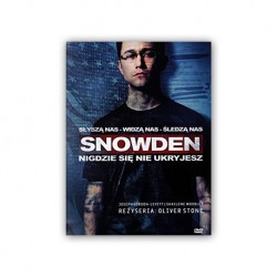 Snowden - film DVD